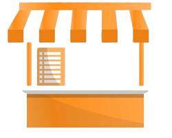 Kiosks icon