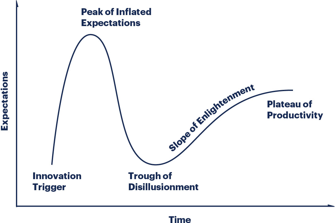Gartner's Hype Cycle framework